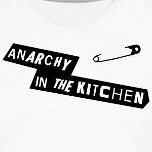 Anarchy In The Kitchen Delantales - Camiseta de manga larga premium hombre