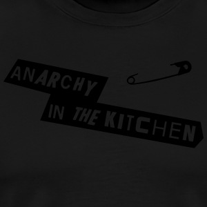 Anarchy In The Kitchen Forklær - Premium T-skjorte for menn