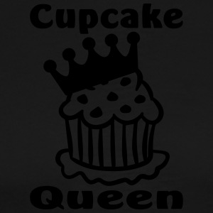 cup cake queen  Aprons - Men's Premium T-Shirt
