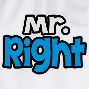 Mr. Rght T-Shirts - Drawstring Bag
