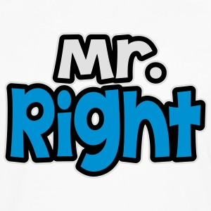 Mr. Rght T-Shirts - Men's Premium Longsleeve Shirt