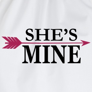 She's mine T-Shirts - Drawstring Bag