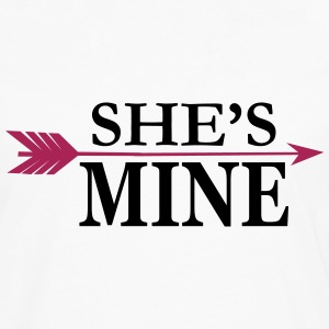 She's mine T-Shirts - Men's Premium Longsleeve Shirt