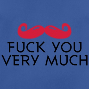 fuck you very much moustache 2c Bolsas y mochilas - Camiseta hombre transpirable