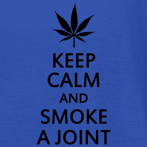 keep calm and smoke a joint Sweaters - Vrouwen tank top van Bella