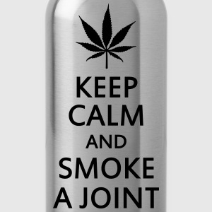 keep calm and smoke a joint Underwear - Water Bottle