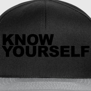Know yourself T-Shirts - Snapback Cap