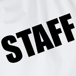 Staff T-Shirts - Drawstring Bag