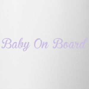 Baby On Board Felpe - Tazza