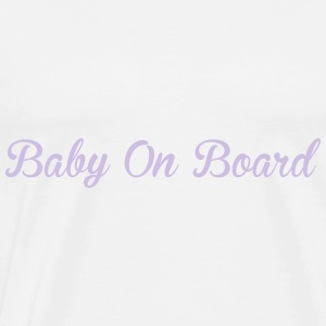 Baby On Board Sweaters - Mannen Premium T-shirt