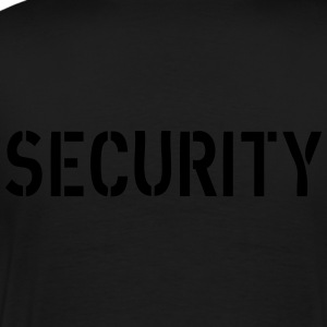 Security Hoodies & Sweatshirts - Men's Premium T-Shirt