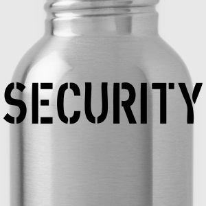 Security Pullover & Hoodies - Trinkflasche