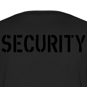 Security Sweaters - Mannen Premium shirt met lange mouwen