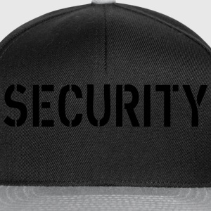 Security Hoodies & Sweatshirts - Snapback Cap