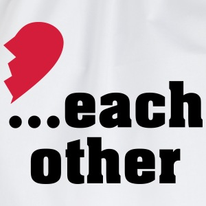 Made for each other - partner shirt T-Shirts - Drawstring Bag