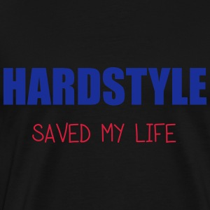 Hardstyle Saved Me Sweaters - Mannen Premium T-shirt