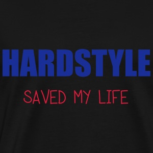 Hardstyle Saved Me Sweat-shirts - T-shirt Premium Homme