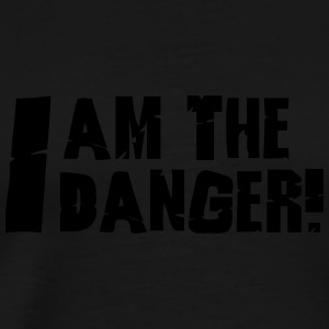 I am the danger  Langærmede shirts - Herre premium T-shirt