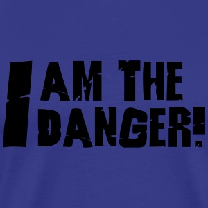 I am the danger  Pullover & Hoodies - Männer Premium T-Shirt
