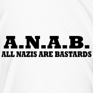 ALL NAZIS ARE BASTARDS Bottles & Mugs - Men's Premium T-Shirt