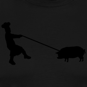 Catch the pig Delantales - Camiseta premium hombre