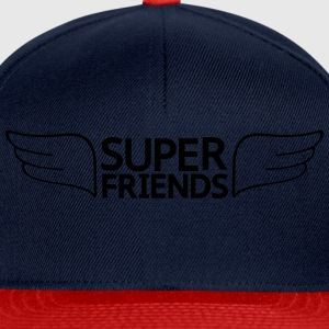 super friends amis super Tee shirts - Casquette snapback