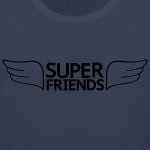 super friends super venner T-skjorter - Premium singlet for menn