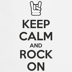 Keep Calm and Rock On T-shirts - Forklæde
