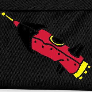 space shuttle space ship Rakete rocket satellite T-shirts - Rugzak voor kinderen