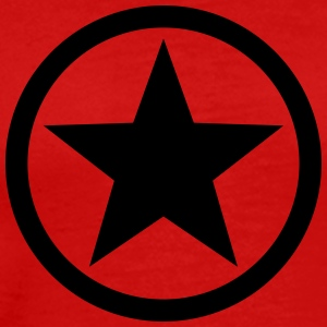 Star circle Anarchy Master Black Rebel Revolution Tee shirts manches longues - T-shirt Premium Homme