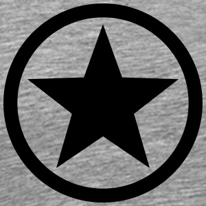Star circle Anarchy Master Black Rebel Revolution Skjorter med lange armer - Premium T-skjorte for menn