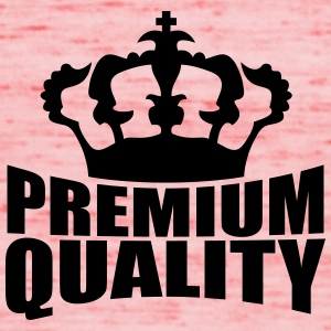 Premium Quality Crown Design Magliette - Top da donna della marca Bella