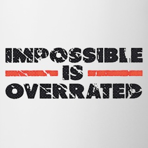 Impossible Is Overrated - Retro Bluzy - Kubek