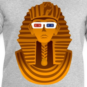 Pharaon avec lunettes 3D Tee shirts - Sweat-shirt Homme Stanley & Stella