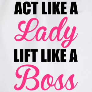Lift Like A Boss T-skjorter - Gymbag