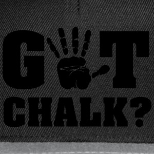 Got chalk? T-Shirts - Snapback Cap