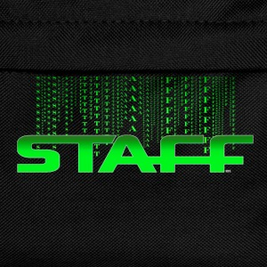 T SHIRT STAFF by Florian VIRIOT - Sac à dos Enfant