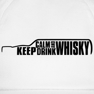 Keep Calm and Drink Whisky Islay T-Shirt Tee shirts - Casquette classique