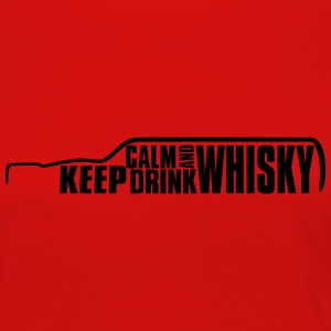 Keep Calm and Drink Whisky Islay T-Shirt Tee shirts - T-shirt manches longues Premium Femme
