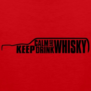Keep Calm and Drink Whisky Islay T-Shirt Tee shirts - Débardeur Premium Homme