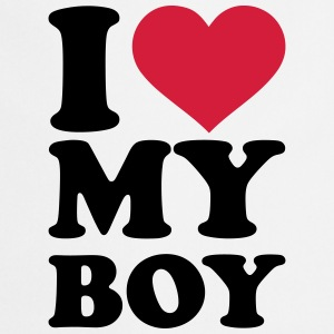 I love my boy T-Shirts - Kochschürze