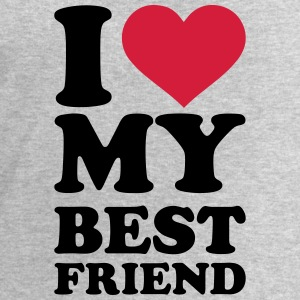 I love my best friend T-Shirts - Männer Sweatshirt von Stanley & Stella