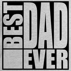Cool Best Dad Ever Logo Design T-Shirts - Männer Sweatshirt von Stanley & Stella
