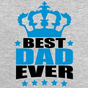 Best King Dad Ever Logo Design T-shirts - Herresweatshirt fra Stanley og Stella