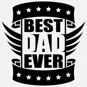 Best Dad Ever Wings Logo-Design T-Shirts - Cooking Apron
