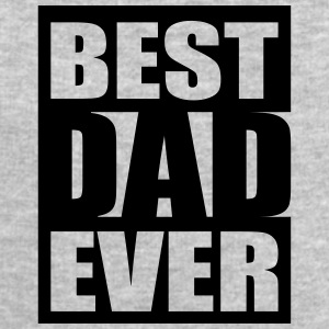Best Dad Ever Logo-Design T-shirts - Sweatshirt herr från Stanley & Stella