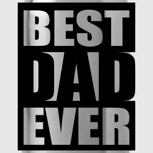 Best Dad Ever Logo-Design T-shirts - Drikkeflaske