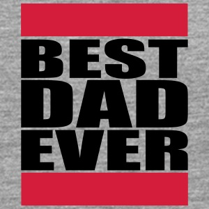 Best Dad Ever Logo T-shirts - Herre premium T-shirt med lange ærmer