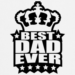 Best Dad Ever King Logo T-Shirts - Cooking Apron