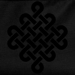 Infinity Buddhism Tibetan endless knot Celtic Long sleeve shirts - Kids' Backpack